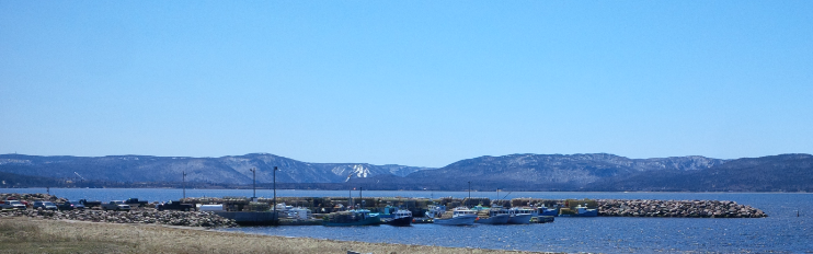 Lobster Boats in Ingonish Harbour