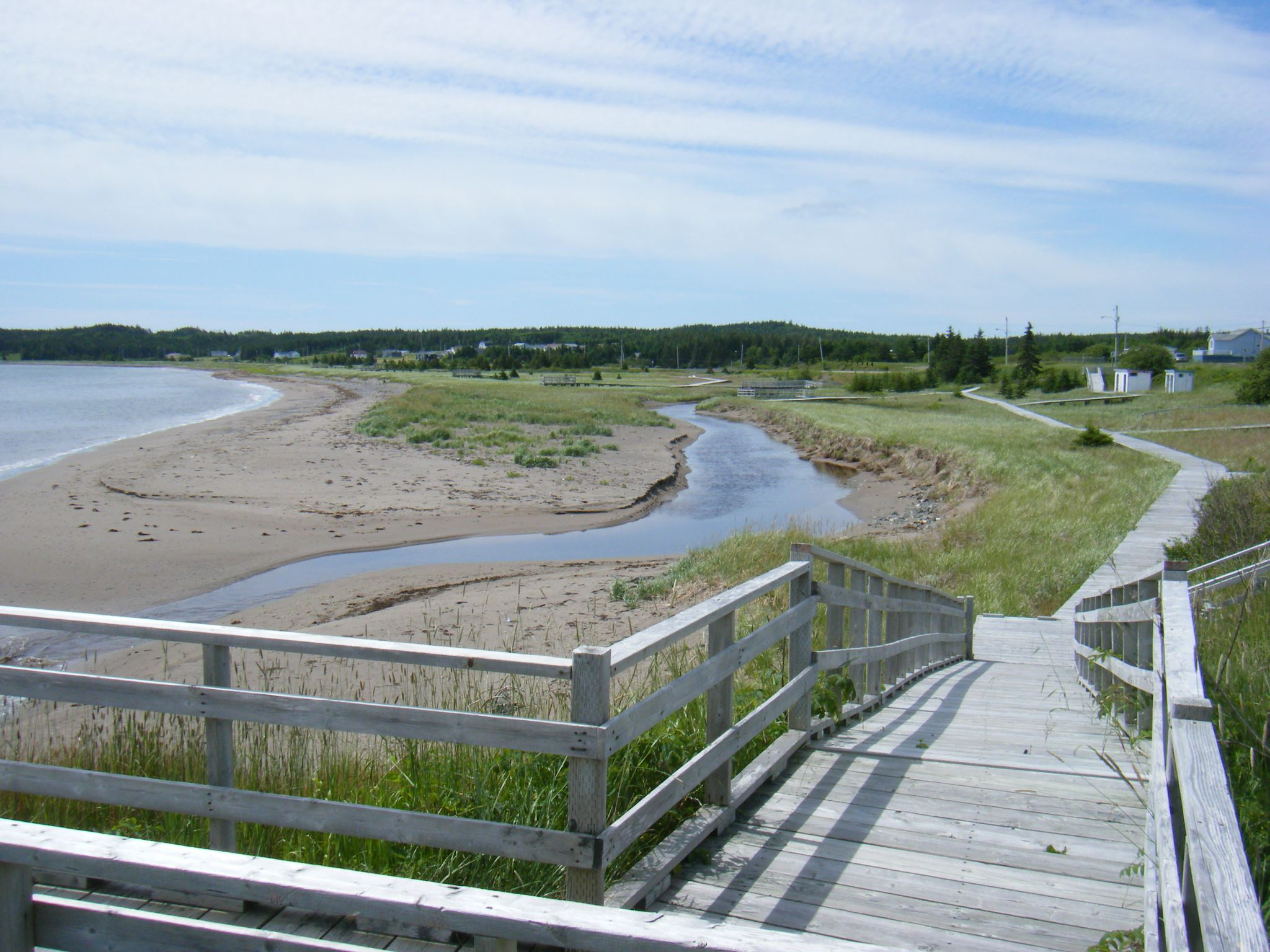 Main-à-Dieu Boardwalk